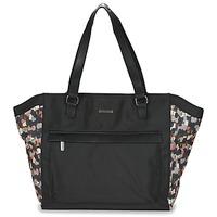 Táskák Női Bevásárló szatyrok / Bevásárló táskák Little Marcel NUR Fekete  / Sokszínű