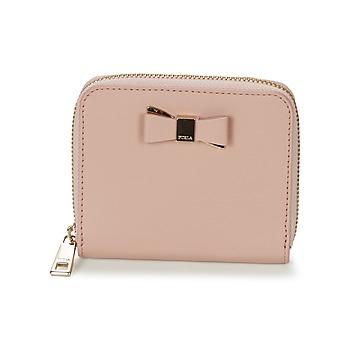 Táskák Női Pénztárca Furla ASIA S ZIPPER Rózsaszín