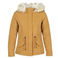 Ruhák Női Parka kabátok Only NEW LUCA Mustár sárga