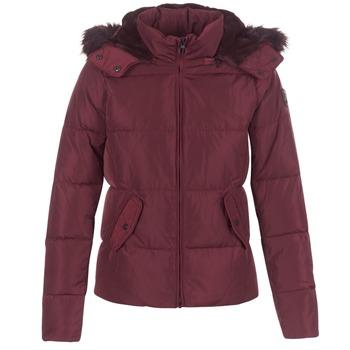 Ruhák Női Steppelt kabátok Only RHODA Bordó