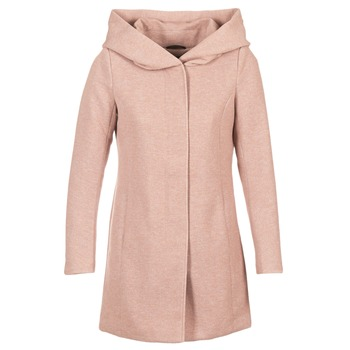 Ruhák Női Kabátok Only SEDONA Rózsaszín