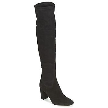Cipők Női Combcsizmák Bocage FLORIAN Fekete
