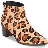 Cipők Női Bokacsizmák Bocage MELODY Leopárd