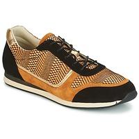 Cipők Női Rövid szárú edzőcipők Bocage LAURETTE Fekete  / Okker-Cserszínű