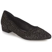Cipők Női Balerina cipők / babák Ravel  Fekete-fényes