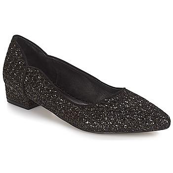 Cipők Női Balerina cipők  Ravel  Fekete-fényes