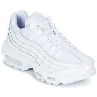 Cipők Női Rövid szárú edzőcipők Nike AIR MAX 95 W Fehér