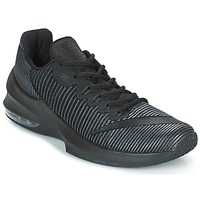 Cipők Férfi Kosárlabda Nike AIR MAX INFURIATE 2 LOW Fekete
