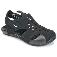 Cipők Gyerek Szandálok / Saruk Nike SUNRAY PROTECT 2 TODDLER Fekete  / Fehér