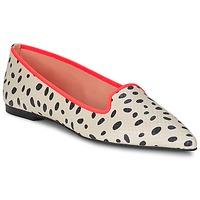 Shoes Női Balerina cipők / babák Pretty Ballerinas MEIJI Ekrü