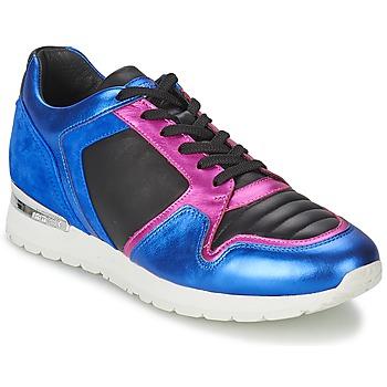 Cipők Női Rövid szárú edzőcipők Bikkembergs KATE 420 Kék / Fukszia