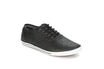 Cipők Férfi Rövid szárú edzőcipők Jack & Jones SCORPION Fekete