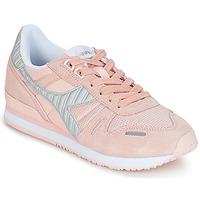 Cipők Női Rövid szárú edzőcipők Diadora TITAN II W Rózsaszín
