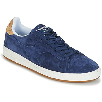 Cipők Férfi Rövid szárú edzőcipők Diadora GAME LOW SUEDE Kék