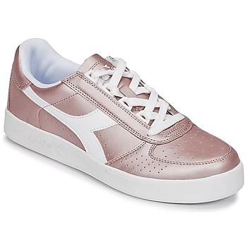 Cipők Női Rövid szárú edzőcipők Diadora B ELITE I METALLIC WN Bronz