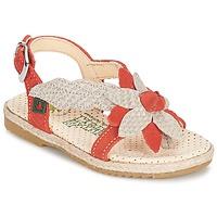 Shoes Lány Szandálok / Saruk El Naturalista SAMOA Narancssárga / Ekrü