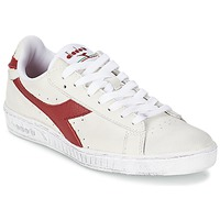 Cipők Rövid szárú edzőcipők Diadora GAME L LOW WAXED Fehér / Piros