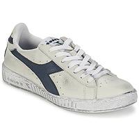 Cipők Rövid szárú edzőcipők Diadora GAME L LOW WAXED Fehér / Kék
