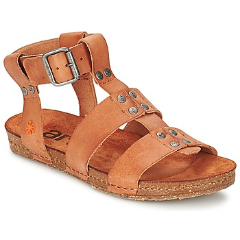 Shoes Női Szandálok / Saruk Art CRETA SPARA Teve