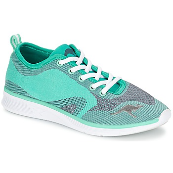 Cipők Női Rövid szárú edzőcipők Kangaroos K-LIGHT 8004 Türkiz