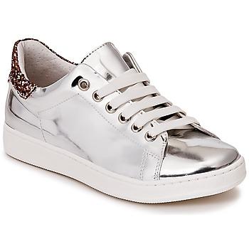 Cipők Lány Rövid szárú edzőcipők Young Elegant People EDENIL Ezüst