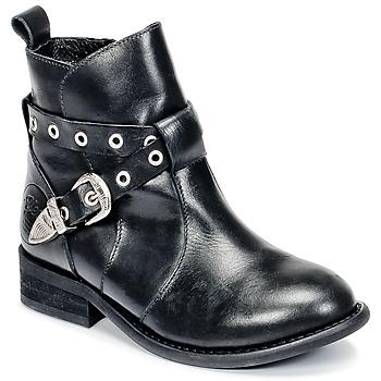 Cipők Lány Csizmák Young Elegant People CALYPSOM Fekete