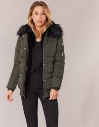 Ruhák Női Steppelt kabátok Moony Mood HIPATI Keki / Fekete