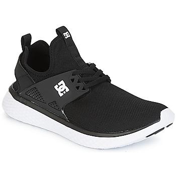 Cipők Férfi Rövid szárú edzőcipők DC Shoes Meridian M SHOE BKW Fekete