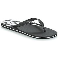 Cipők Férfi Lábujjközös papucsok DC Shoes SPRAY M SNDL BLW Fekete  / Fehér
