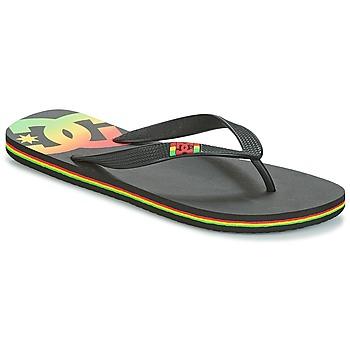 Cipők Férfi Lábujjközös papucsok DC Shoes SPRAY M SNDL RST Fekete