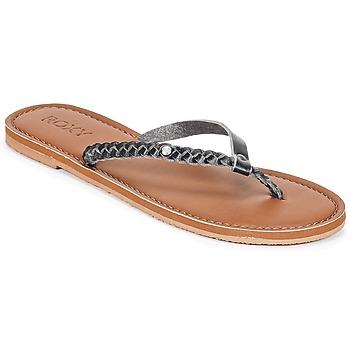 Cipők Női Lábujjközös papucsok Roxy LIVIA J SNDL BLK Fekete