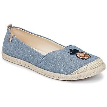 Cipők Női Gyékény talpú cipők Roxy FLORA II J SHOE CHY Kék