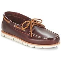 Cipők Férfi Vitorlás cipők Timberland TIDELANDS 2 EYE Bordó
