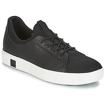 Cipők Férfi Rövid szárú edzőcipők Timberland AMHERST LTHR LTT SNEAKER Fekete