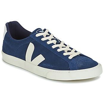 Cipők Férfi Rövid szárú edzőcipők Veja ESPLAR LOW LOGO Kék
