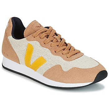 Cipők Női Rövid szárú edzőcipők Veja SDU Bézs / Citromsárga
