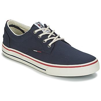 Cipők Férfi Rövid szárú edzőcipők Tommy Hilfiger VIC 1 Kék