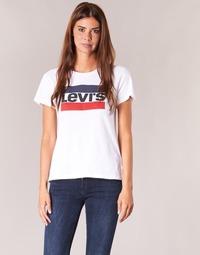 Ruhák Női Rövid ujjú pólók Levi's THE PERFECT TEE Fehér