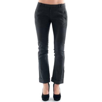 Ruhák Női Chino nadrágok / Carrot nadrágok Amy Gee AMY04300 Gris oscuro