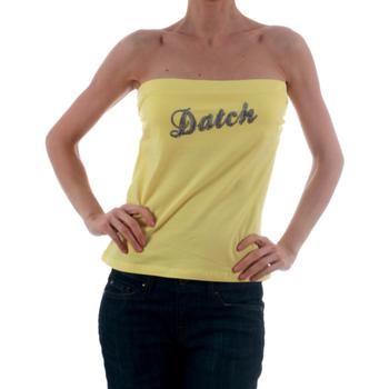 Ruhák Női Trikók / Ujjatlan pólók Datch DTC00006 Amarillo