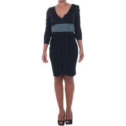 Ruhák Női Rövid ruhák Silvian Heach SIL13565 Negro