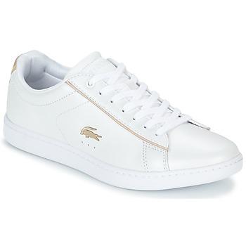 Cipők Női Rövid szárú edzőcipők Lacoste CARNABY EVO 118 6 Fehér