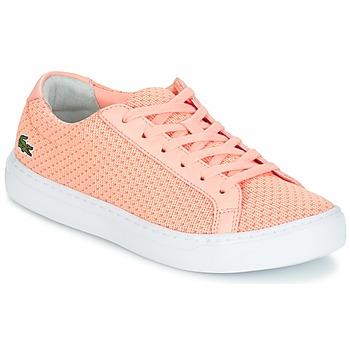 Cipők Női Rövid szárú edzőcipők Lacoste L.12.12 LIGHTWEIGHT1181 Rózsaszín