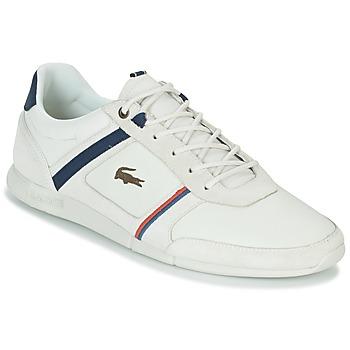 Cipők Férfi Rövid szárú edzőcipők Lacoste MENERVA 118 1 Fehér