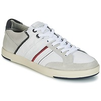 Cipők Férfi Rövid szárú edzőcipők Levi's BEYERS Fehér