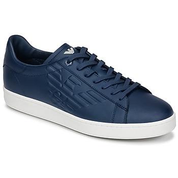 Cipők Férfi Rövid szárú edzőcipők Emporio Armani EA7 CLASSIC U Kék