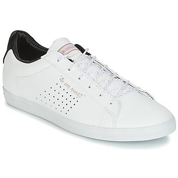 Cipők Női Rövid szárú edzőcipők Le Coq Sportif AGATE LO S LEA/SATIN Fehér / Fekete