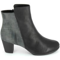 Cipők Női Bokacsizmák TBS Katelyn Noir Fekete