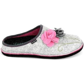 Cipők Női Mamuszok Fargeot Shannon Gris Rose Szürke