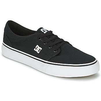 Cipők Férfi Rövid szárú edzőcipők DC Shoes TRASE TX MEN Fekete  / Fehér